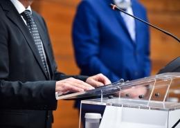 Pressekonferenz | Foto: roibu/Adobestock
