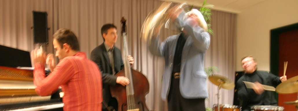 Wolfgang Puschnig mit anderen Musikern