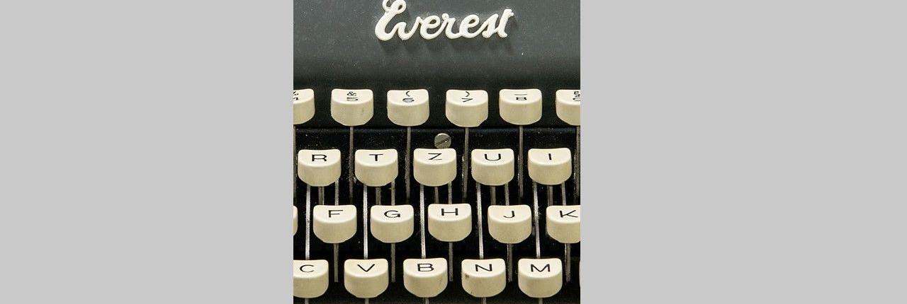 Peter Turrinis Schreibmaschine, Ausschnitt