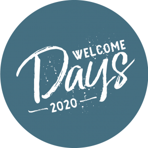 Logo Welcome Days 2020 | Wintersemester 20/21