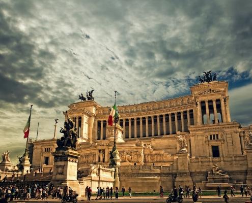Vittorio Emanuele Denkmal | Foto: pixabay, skylark