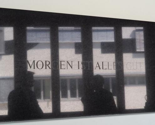 Arnold Reinthaler: Morgen ist alles gut | Kunst auf dem Campus