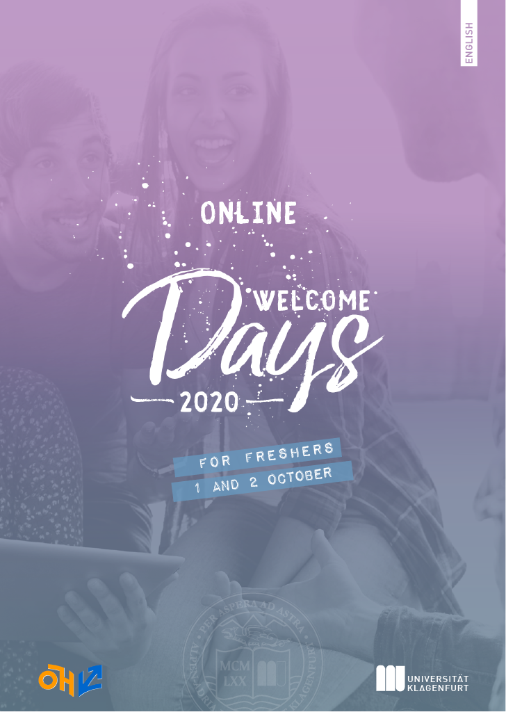 Folder_Welcome Days_WiSe 2020_EN Seite 1