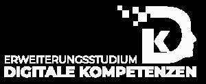 Logo des Erweiterungsstudiums Digitale Kompetenzen