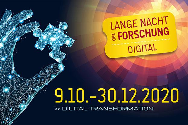Logo der Langen Nacht der Forschung - 9.10. bis 30.12.2020