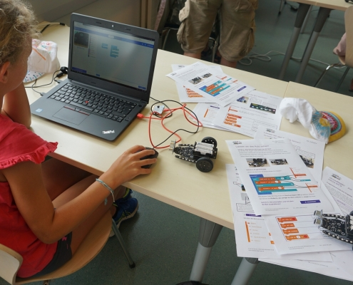 Science Holidays - Informatikworkshop