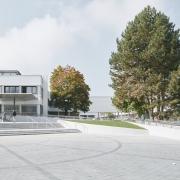 Haupteingang der Universität Klagenfurt