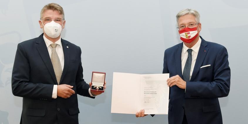 Matthias Karmasin und Peter Kaiser
