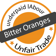 Logo zur Ausstellung Bitter Oranges