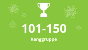 QS Rankings Ranggruppe 101-150 Ranggruppe