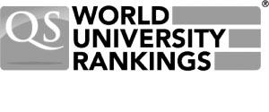 Logo QS World University Rankings (grey)