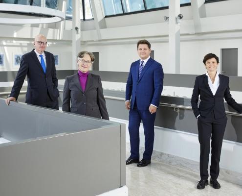Das Rektoratsteam