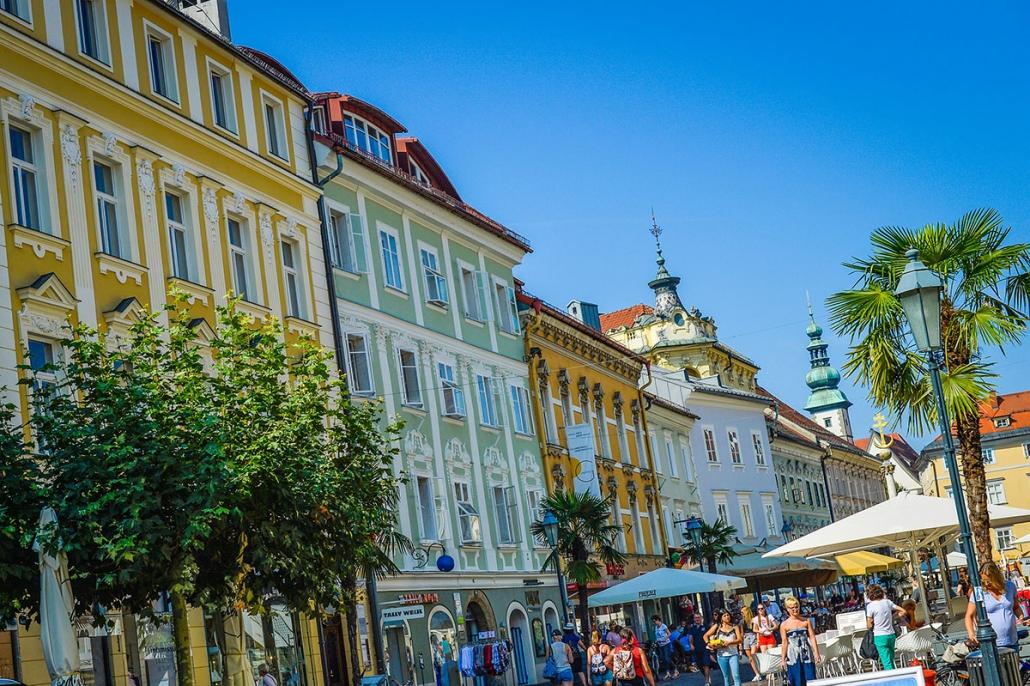 Altstadt von Klagenfurt am Wörthersee