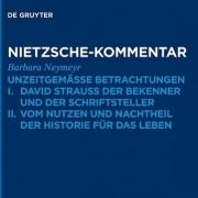 Neuerscheinung - Nietzsche Kommentar