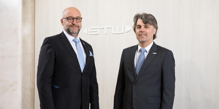 Erwin Smole und Harald Tschurnig, die Vorstände der Stadtwerke Klagenfurt AG