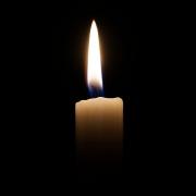 Leuchtende Kerze