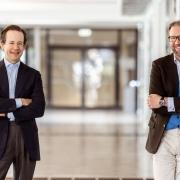 Rechtswissenschaftler Christoph Kietaibl und Olaf Riss