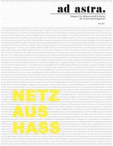 Cover ad astra Ausgabe Mai 2021