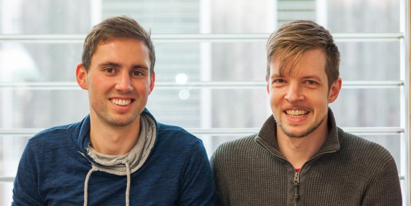 Marcel Bricman und Philip Steinkellner
