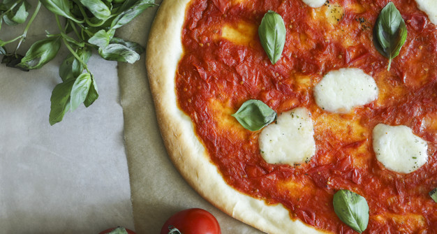 Pizza Inszenierung