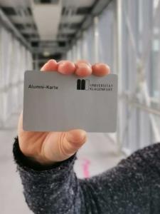 Alumni-Karte aau/kk
