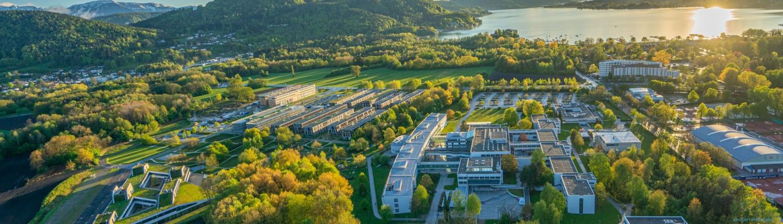 Luftbild Universität - Lakeside Park - Wörthersee