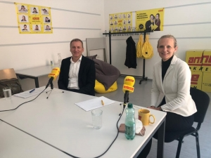 Ralf Terlutter und Margaretha Gansterer Podcast WiWi 2021