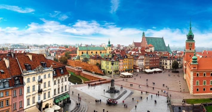 Warschau Stadtansicht