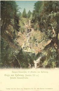 Gangus-Wasserfall