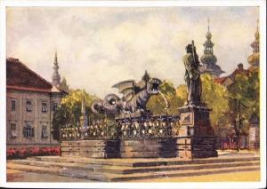 Eduard-Manhart-Lindwurmbrunnen