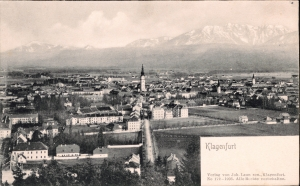 Klagenfurt-vom-Kreuzbergl-aus