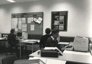 Historisches Bild vom MK-Institut