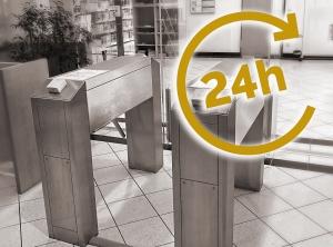 24h Drehkreuz