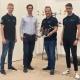 Martin Scheiber, Stephan Weiss, Christian Brommer & Allessandro Fornasier (v.l.n.r.)