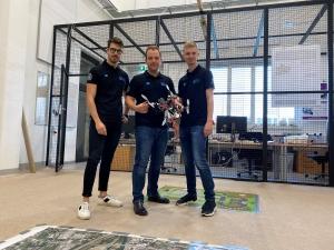 Allessandro Fornasier, Christian Brommer und Martin Scheiber (v.l.n.r.)