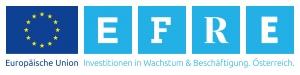 """Logo des EFRE-Förderprogramms mit dem Ziel """"Investitionen in Wachstum und Beschäftigung"""""""