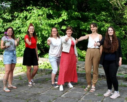 Studierende unterstützen die Caritas und entwickeln Projekte