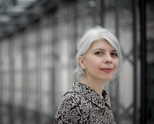 Porträtfoto Marica Bodrozic, Foto: Peter von Felbert