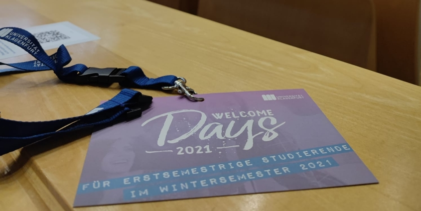 Welcome Days 2021