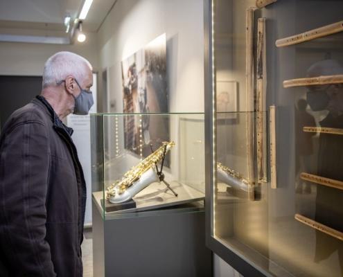 Wolfgang Puschnig bei der Ausstellung Arteficia | Foto: Karlheinz Fessl